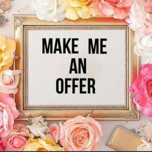 Other - 💕Make me an offer I can't refuse💕